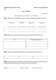 English Worksheets: leadership