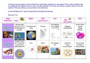 English Worksheet: special days : happy new year ! and Chinese new year.
