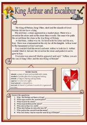 English Worksheets: READING COMPREHENSION (A LEGEND)B&W version+key included
