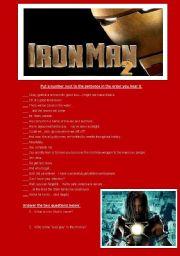 English Worksheets: Iron Man 2 - Movie Trailer