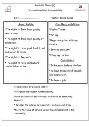 rights and responsibilities esl worksheet by besmah. Black Bedroom Furniture Sets. Home Design Ideas