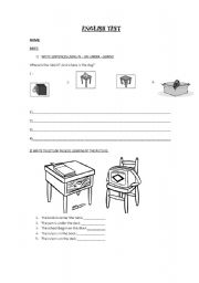English Worksheets: prepositions IN-ON-UNDER-BEHIND