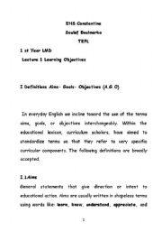 English Worksheets: tefl