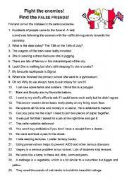 English Worksheet: Polish-English False Friends