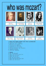 WHO WAS MOZART