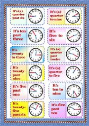 English Worksheet: Graminoes -  Telling Time - Part 2/3