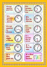 English Worksheet: Graminoes - part 3/3 - Telling Time