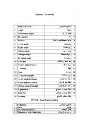 English Worksheets: english for arab