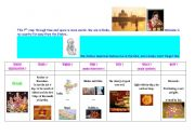 special days : step 7 - Diwali (Indian Day)