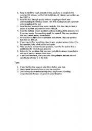 English Worksheets: 001