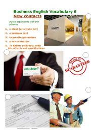 Business English Vocabulary 6