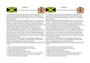 English Worksheet: Jamaica introduction