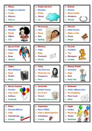 English Worksheets: Drawing game