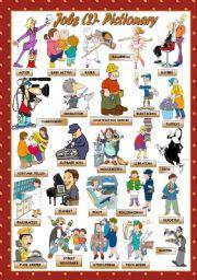 English Worksheets: JOBS - Pictionary (2)