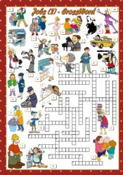 JOBS - Crossword (2)