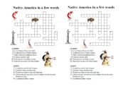 Native Americans crossword