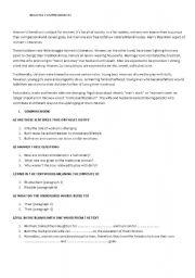 English Worksheets: WOMEN LIBERATION