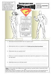 Design a superhero