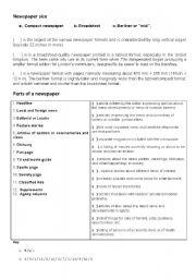 English Worksheets: Media