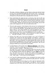 English Worksheet: full term test n2 3rd form