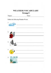 Printables Worksheets For Special Education Students worksheets for special education students davezan english teaching weather vocabulary