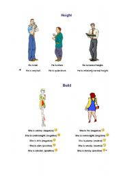 English Worksheets: appearance flashcard