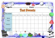 English Worksheets: Testing sweet