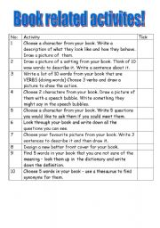 guided reading activities - ESL worksheet by mebs
