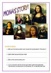 MONA LISA´ S STORY! interesting version