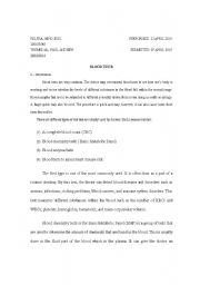 English Worksheets: lab report