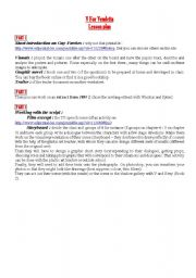 English Worksheet: V For Vendetta Lesson Plan and activities