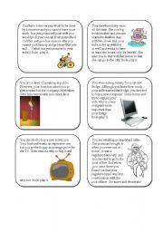 English Worksheets: Role-plays for Adults