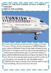 English Worksheets: Turkish pilots