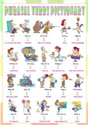 English Worksheets: Phrasal Verbs (Thirteenth series). Pictionary (Part 1/3). Rely on = Be dependent