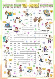 English Worksheet: Phrasal Verbs (Thirteenth series). Crossword (Part 3/3)