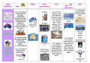 English Worksheet: special days : step 14 - Australia Day