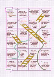 Snakes and ladders nº 2  : Word formation