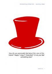 English Worksheets: ten thinking hats