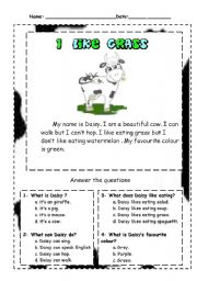 First grade: writing sample 1 reading rockets