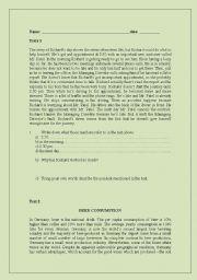 English Worksheets: READINGS 3