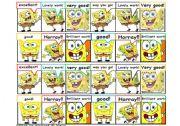 Rewarding Stickers: spongebob