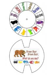 Brown bear, what do you see?