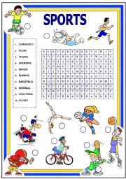 sports with key esl worksheet by fabiola r. Black Bedroom Furniture Sets. Home Design Ideas
