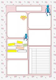 English Worksheets: PINK Template