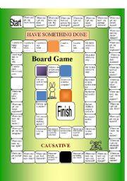 English Worksheet: CAUSATIVE /USEDTO
