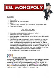 monopoly game rules and instructions