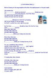 English worksheets: songs worksheets, page 1003