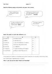 lesson 11 - 1st form