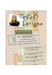 English Worksheet: Avril Lavigne - Innocence