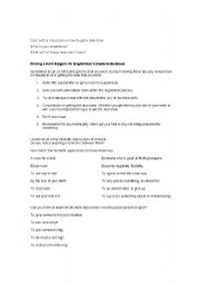English Worksheets: Idiomatic English Business Phrases